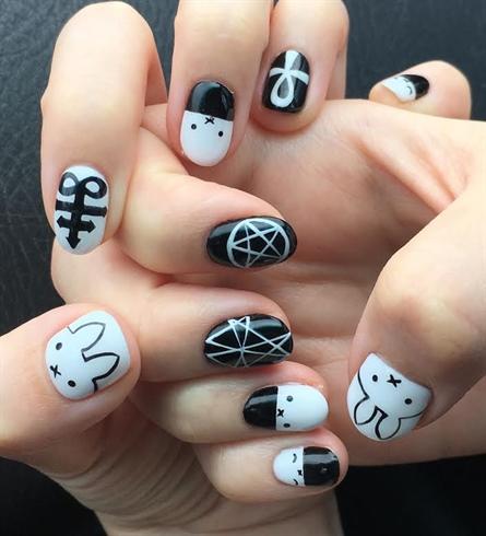 Miffy The Bunny Nail Art Nail Design Nail Art Gallery
