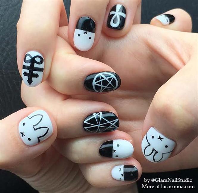 Miffy nail polish, kawaii Japanese nails - Nail Art Gallery