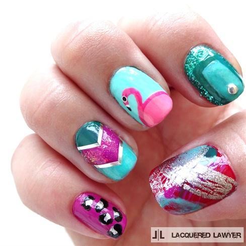 Bachelorette Party Nails
