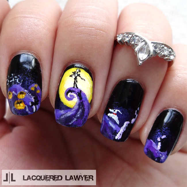 The Nightmare Before Christmas - Nail Art Gallery Nightmare Before Christmas Nail Art Photos