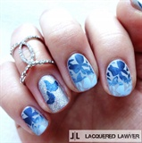 Brilliant Blue Butterflies