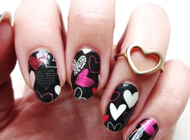 Nails magazine nail salon techniques nail art business tips hearts a glow prinsesfo Gallery