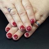 Red Holiday Nails