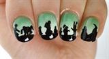 Lord of the Rings Nail Art; Fellowship