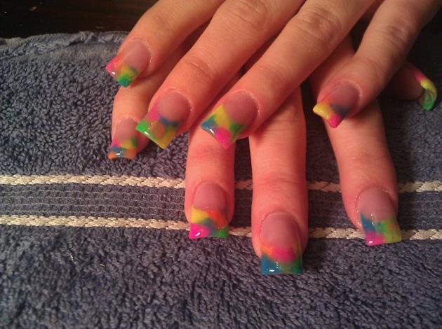tie dye nails - Tie Dye Nails - Nail Art Gallery