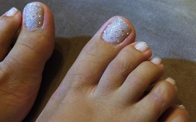 Wedding toes!!!