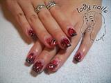 Burning nails