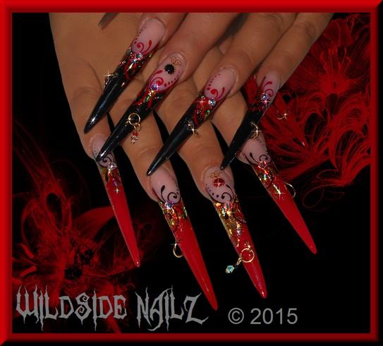 Designed by: LadyNailz @ WildSide Nailz