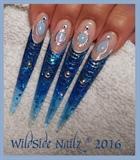 Moonstones ~ Nail Art by WildSide Nailz