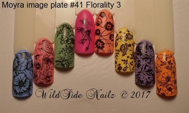 Moyra's Florality 3 Image Plate