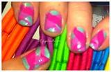 Fish tale nails