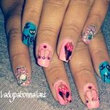 Bling Birthday nails
