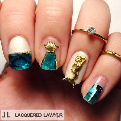 Amber Colorful Natural Thin Nail