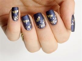 nail art: Nice nail art design