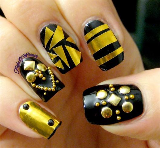 Nice nail art design