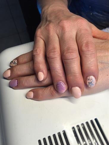 Airbrush Stripes And Filigree