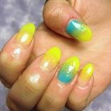Yellow/Turquoise Gradient