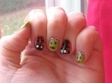 Ladybug & Frog Nails