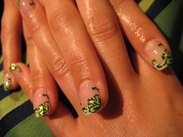 Green gold Acrylic 2008