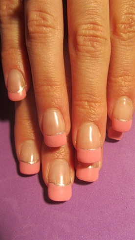 Pink & Silver French