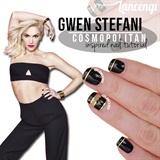 Gwen Stephani Inspired Mani
