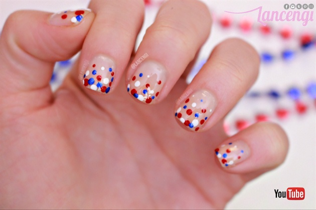 Memorial Day Dotticure