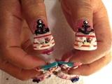 3-D Hello Kitty Thumbs