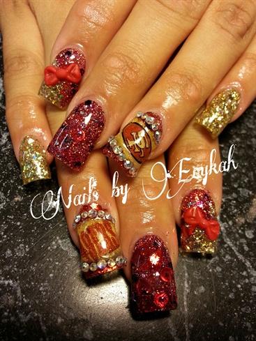 49ers Nails Nail Art Gallery