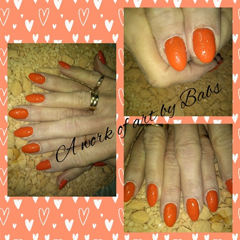 Neon Orange - spring Love
