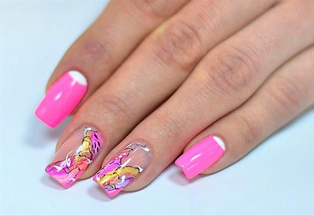 Cute Pink Nails Nail Art Gallery