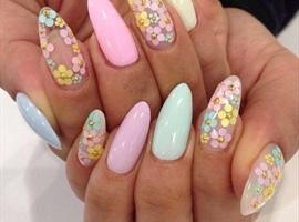 Nice springtime nails