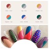 Paintbox Nails Color Chart 1 March 2017