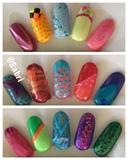 Cheery Summer Nail Designs