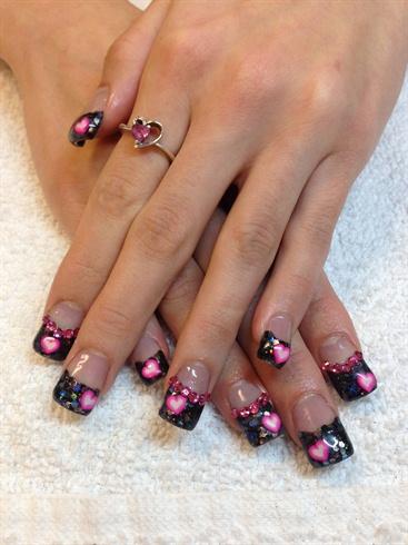 valentines nails  nail art gallery