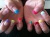 multi coloured tips