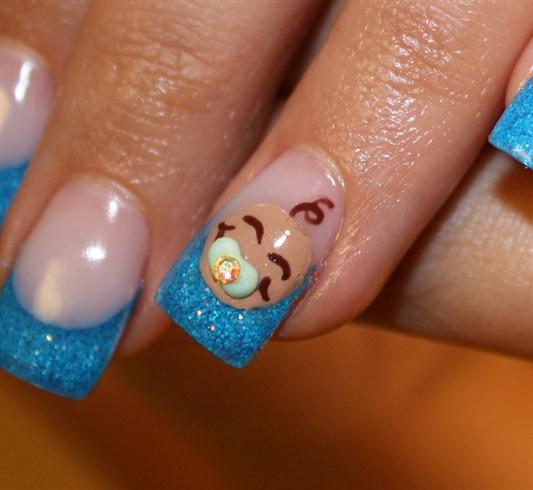 It&#39 ... - It's A Boy!! - Nail Art Gallery