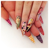 1950's Pinup Nails