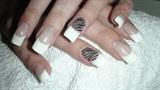 french with zebra stripes