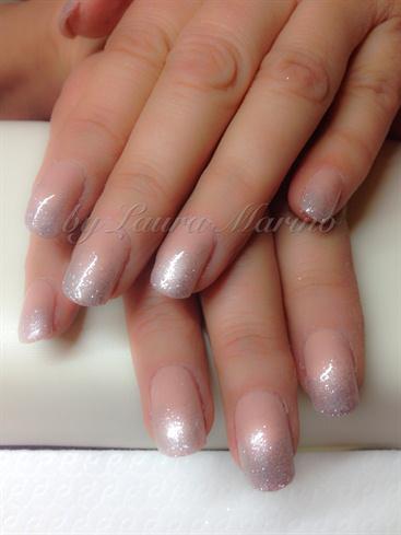 #loveglitters#silvernail#
