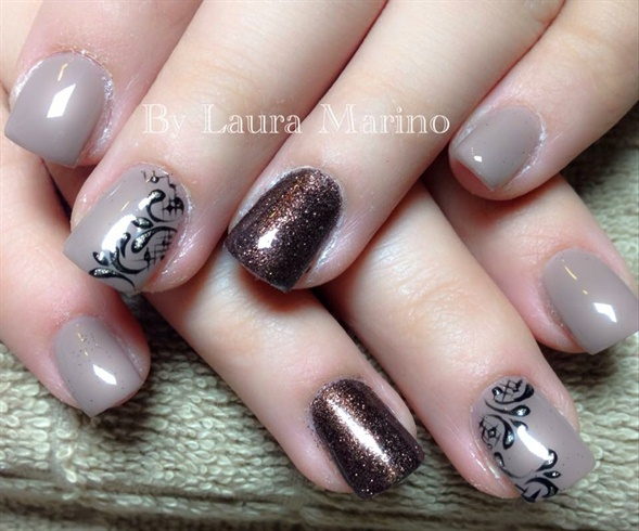 Brown And Glitters