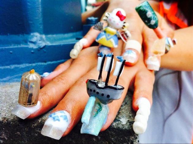 Kitty Antoinette Fantasy Nails