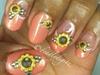 Sun Flower French Twist