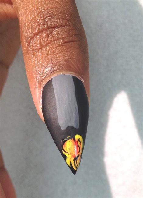 Ntna Week 5 Entity Nail Art Gallery Step By Step Tutorial Photos
