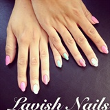 Pretty Summery Nails