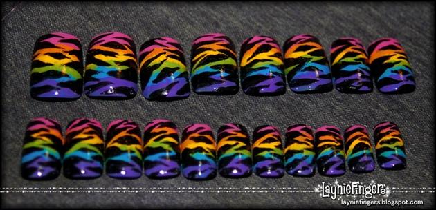 Rainbow Zebra 2