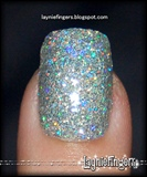 Silver Disco Nails 4