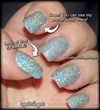 Silver Disco Nails 3
