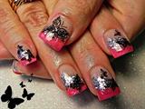 Pink Butterfly Queen