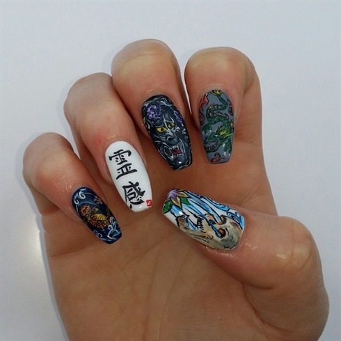 Nails NTNA 2015 Cover Artist Challenge