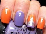 Oriental Themed Manicure